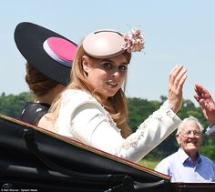Princess Beatrice at Ascot 2017