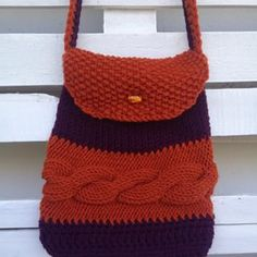 New line #knitted #handmade #crossbody #messenger #bag #handbag I love it so much I want to keep it for myself!!! ♥️
