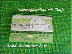 Video-Tutorial: Karte zur Kommunion / Taufe / Konfirmation basteln card # 9