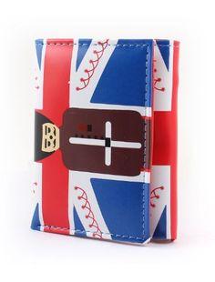 Rot-weiße Flagge, drei Taschen-Münzen Kreditkarten-Geldbörse - http://on-line-kaufen.de/uxcell/rot-weisse-flagge-drei-taschen-muenzen