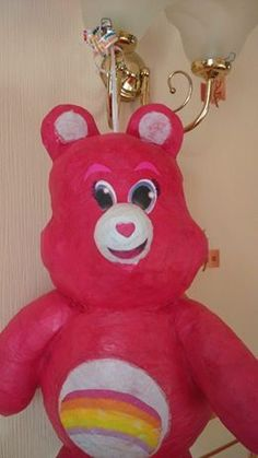 TAIMBOW CARE BEAR. HIT PINATA & CONFETTI BIRTHDAY PARTY CELEBRATION GAME in Home, Furniture & DIY, Celebrations & Occasions, Party Supplies | eBay