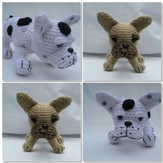 French Bulldog Works: Cute Crochet Frenchies at FuzzyFeetBoutique