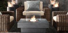 Outdoor Fire Tables - Restoration Hardware