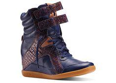 57f86ec7ddcb57 Reebok Women s Alicia Keys Mid Cut Wedge Shoes V51927 Wedge Sneakers