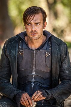 Should I be bothered how much I love Gabriel the bad guy on #Dominion? Eh I don't care lol