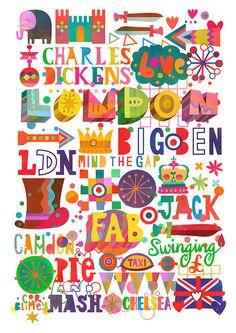 London type by Matt Lyon