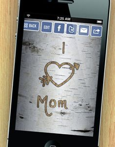Don't forget to text your sweetie a love note today with our Treemail app!  aww not just for valentine day!