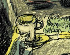 """Check out new work on my @Behance portfolio: """"In the End of the Flea Market-the Cup"""" http://be.net/gallery/64621757/In-the-End-of-the-Flea-Market-the-Cup"""