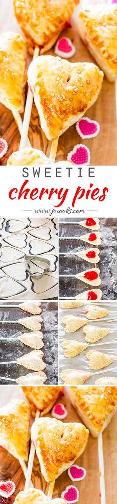 Sweetie Cherry Pie Lollipops