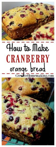 Personalized Graduation Gifts - Ideas To Pick Low Cost Graduation Offers Easy Cranberry Orange Bread Recipe. An Easy Quick Bread To Make For The Holidays, Freezes Well Make Into Mini Loaves To Give Away To Friends And Family For Christmas. Baking Recipes, Dessert Recipes, Cranberry Bread, Cranberry Orange Bread Machine Recipe, Orange Cranberry Loaf, Delicious Desserts, Yummy Food, Bread Machine Recipes, Bread Recipes