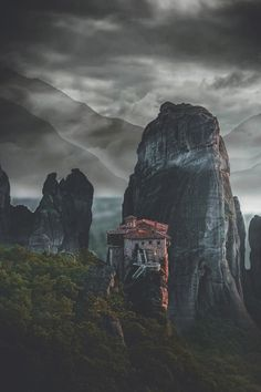 Meteora is one of the largest and most important complexes of Greek Orthodox monasteries in Greece