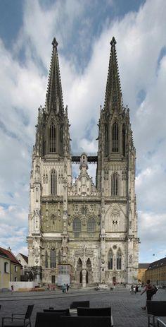 Regensburg, GERMANY. www.travelandtransitions.com/european-travel/european-travel-top-european-river-cruise-ideas-christmas-2014/
