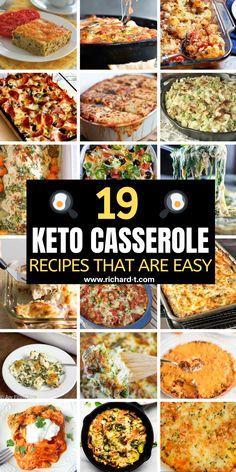19 Easy Keto Casserole Recipes You Wish You Made - Keto for beginners Ketogenic Recipes, Low Carb Recipes, Diet Recipes, Healthy Recipes, Ketogenic Diet, Keto Foods, Group Recipes, Bariatric Recipes, Healthy Foods