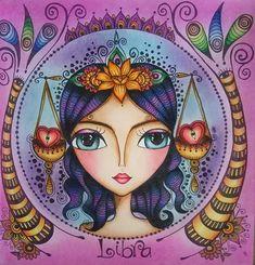 Mandala Art, Contemporary Art Daily, Doll Painting, Abstract Faces, Zodiac Art, Arte Pop, Pen Art, Art Journal Inspiration, Illustrations And Posters