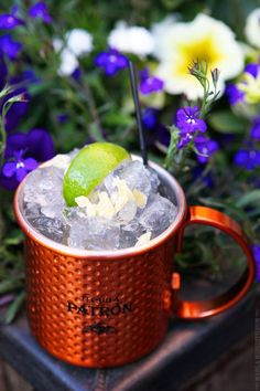 Patron Jalisco Mule | Cocktail Featured at Aspen Food