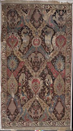 Carpet      Place of origin:      Caucasus, Russia (made)     Date:      17th century (made)