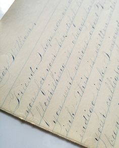 Flower City Letters  Spencerian Script Ornamental Penmanship