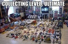 Huge Star Wars Vehicle Collection
