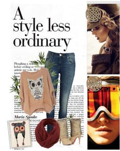 """A Style Less Ordinary"" by silverbird-1 ❤ liked on Polyvore"