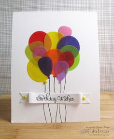 For Lil' Inker Designs Birthday Celebration! by she's_crafty - Cards and Paper Crafts at Splitcoaststampers Handmade Birthday Cards, Greeting Cards Handmade, Card Making Inspiration, Making Ideas, Birthday Celebration, 3rd Birthday, Punch Art Cards, Bday Cards, Beautiful Handmade Cards