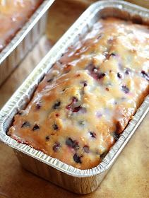 Lemon Drop: Lemon Blueberry Yogurt Loaf