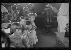 Sunday school, Penderlea Homesteads, North Carolina. 1937. Library of Congress.