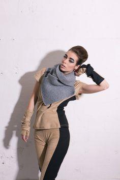 csatos kotott sal, Timarcs, meska.hu #knitted #scarf