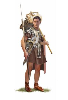 Roman Legionary, c. AD 100-150.