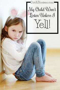 Why won't children listen until we yell? Here are two awesome resources that will get your children to listen without having to yell! This is SO HELPFUL!