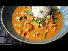 Peanut Curry Chicken - How to Make Chicken with Peanut Curry Sauce - YouTube