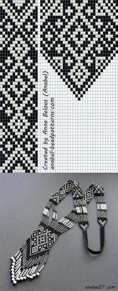 scheme gerdanov Tapestry weaving beadwork
