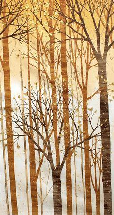 Kaufman Fabrics - Kathrine Lovell 'Sound Of The Woods' be-021-01-6095