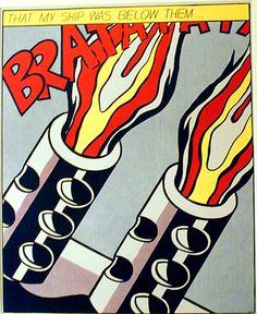 roy+lichtenstein+pop+art | Pop Art in the U.S. and Europe: Roy Lichtenstein (American, 1923-1997)