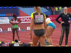 Highlights of the deserved champion Kristin Gierisch Triple salto mujeres Campeonato de Europa 2017 Triple Jump, Spa, Belgrade, Athletics, Finals, Champion, Indoor, Running, Sports