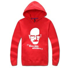 Breaking Bad Walter White logo pullover hoodie