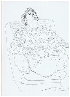 david hockney drawings - Google Search