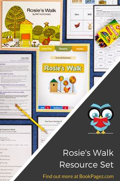 Teaching Reading, Teaching Tools, Reading Comprehension, Teacher Resources, Farm Activities, Educational Activities, Rosies Walk, Talk 4 Writing, Making Predictions