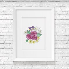 High quality print mat paper (frame not included) Watercolor Art, Create Your Own, Gallery Wall, Tapestry, Art Prints, Frame, Handmade Gifts, Painting, Etsy