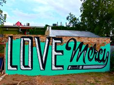 """Latest Mural by Mike """"Truth"""" Johnston for Mission: Possible... www.mikejohnstonartist.com"""
