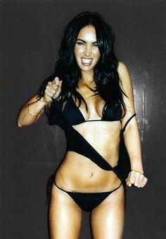 Megan Fox Bikini for GQ Magazine