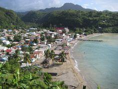 Anse La Raye, St. Lucia