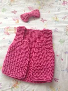 IMG-20140407-WA0001 Knitting For Kids, Baby Knitting, Baby Vest, Knit Crochet, Two Piece Skirt Set, Summer Dresses, Children, Skirts, Lana