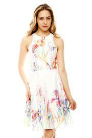 Iris Sleeveless Dress: 385.00 Perfect for a tea or garden party