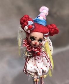 Excited to share the latest addition to my #etsy shop: OOAK Art Doll BONNIE Pierrette-MH Repaint Custom Doll