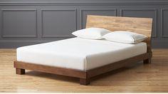 Dondra Teak Full Bed | CB2