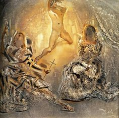 """Die Trinity"" von Salvador Dali (1904-1989, Spain)"