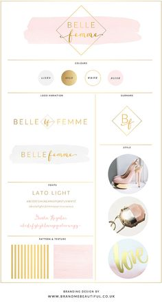 Web Design // Logo Design // Branding Kit // by BrandMeBeautiful
