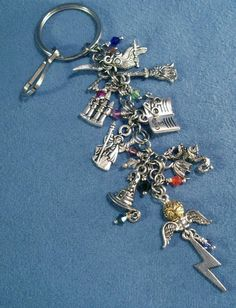 harry potter loaded charm key chain    want