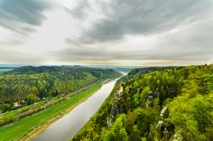 The Elbe River by Ahmedov Ahmed 아흐메드 on 500px