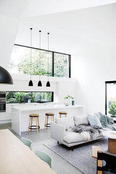 Best Scandinavian Home Design Ideas. 57 Trending Interior Modern Style Ideas For Your Perfect Home This Summer – Cosy Interior. Best Scandinavian Home Design Ideas. Minimalism Interior, House Inspiration, House Styles, House Design, Living Room Designs, Interior Design, Home Decor, House Interior, Interior Architecture